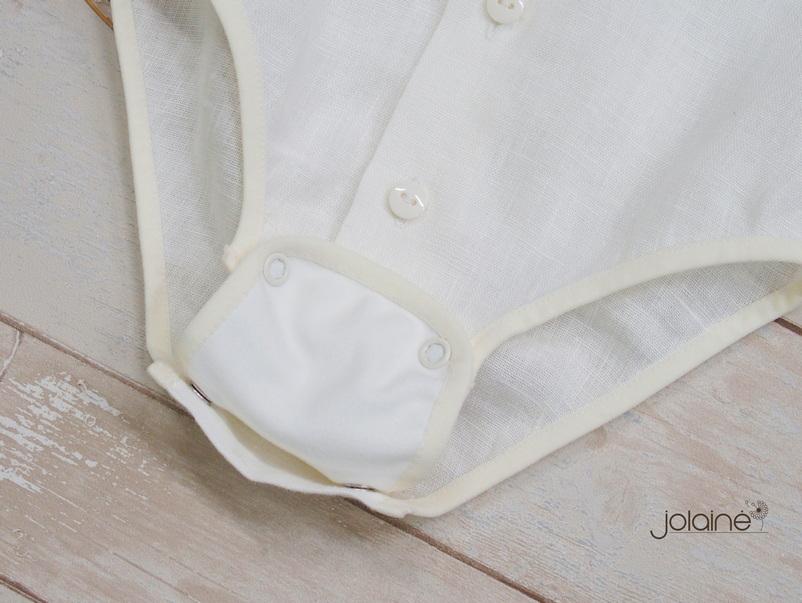 Lininiai marškiniai-smėlinukas